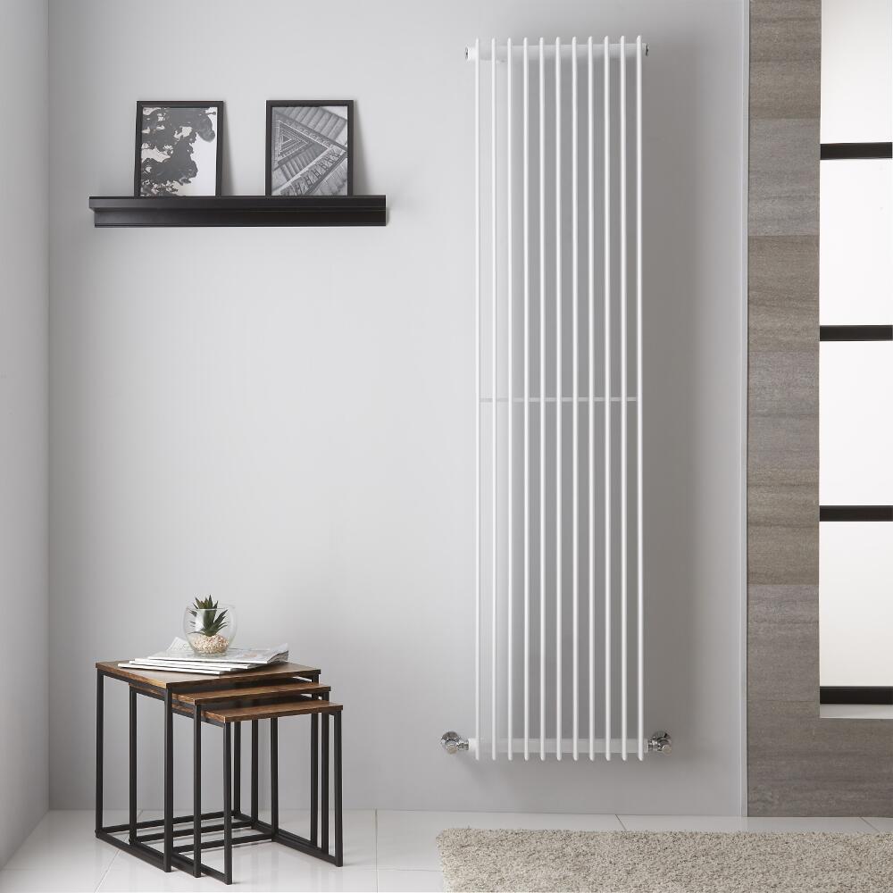 Roma - Radiateur Design Blanc - 180cm x 44.5cm 1428 Watts