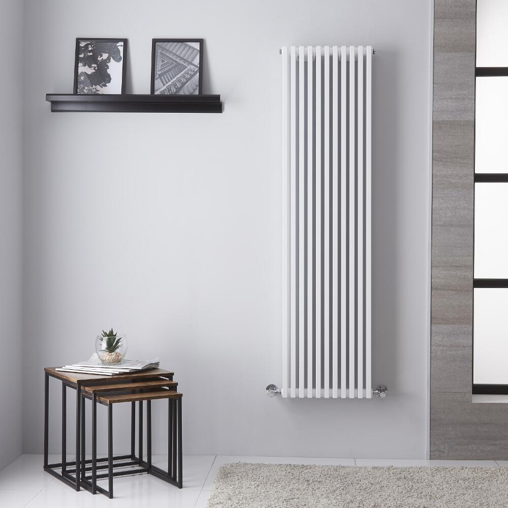 Neive - Radiateur Design Blanc - 150.6cm x 39.2cm