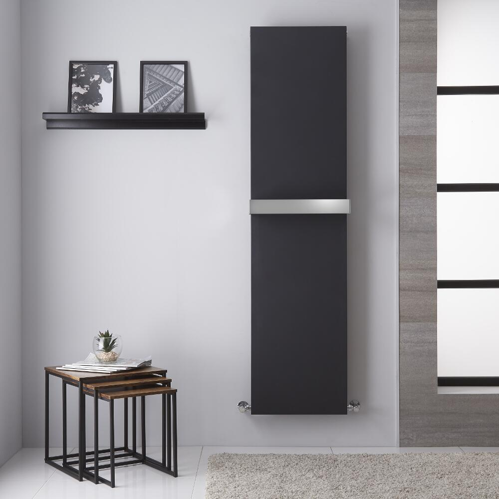 Trevi - Radiateur Vertical Design Anthracite - 180cm x 45cm