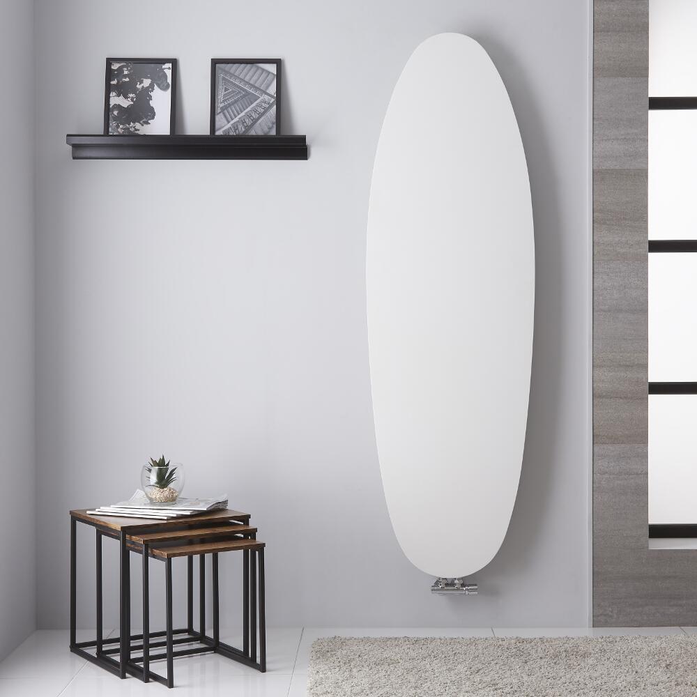 Tavolara - Radiateur Vertical Design Blanc Minéral - 122.8cm x 53.5cm