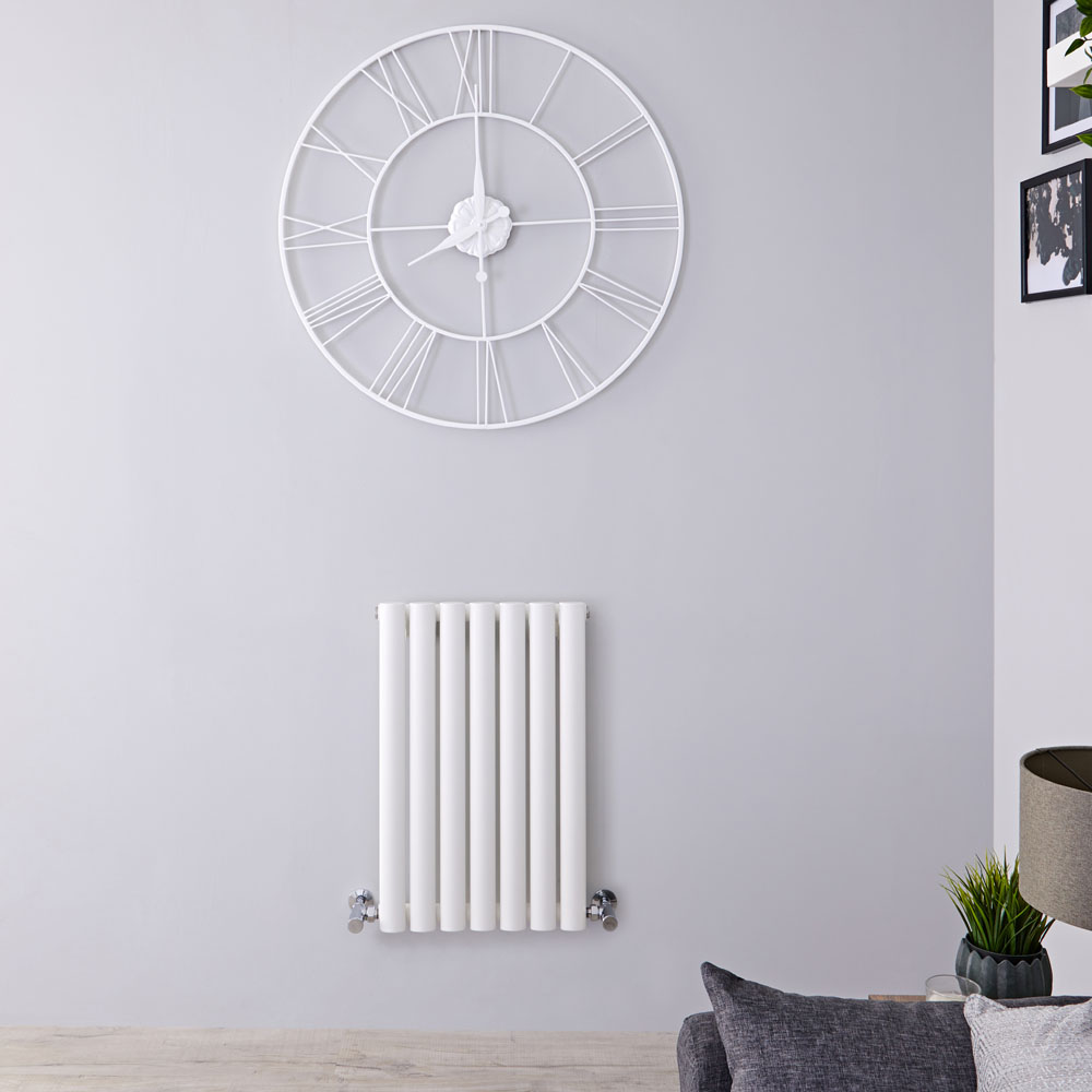 Radiateur Design Horizontal Blanc Vitality 63,5cm x 41,5cm x 5,5cm 418 Watts