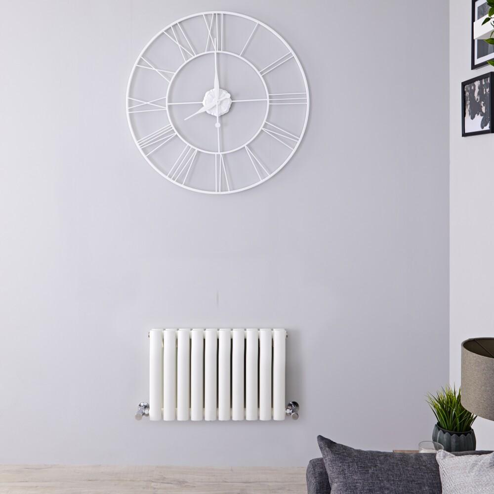 Radiateur Design Horizontal Blanc Vitality 40cm x 59,5cm x 7,8cm 688 Watts