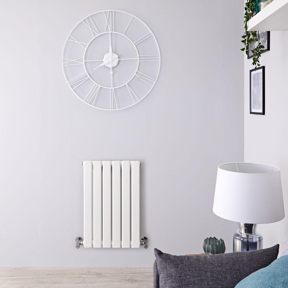 Radiateur Design Horizontal Blanc Delta 63,5cm x 42cm x 4,6cm 376 Watts