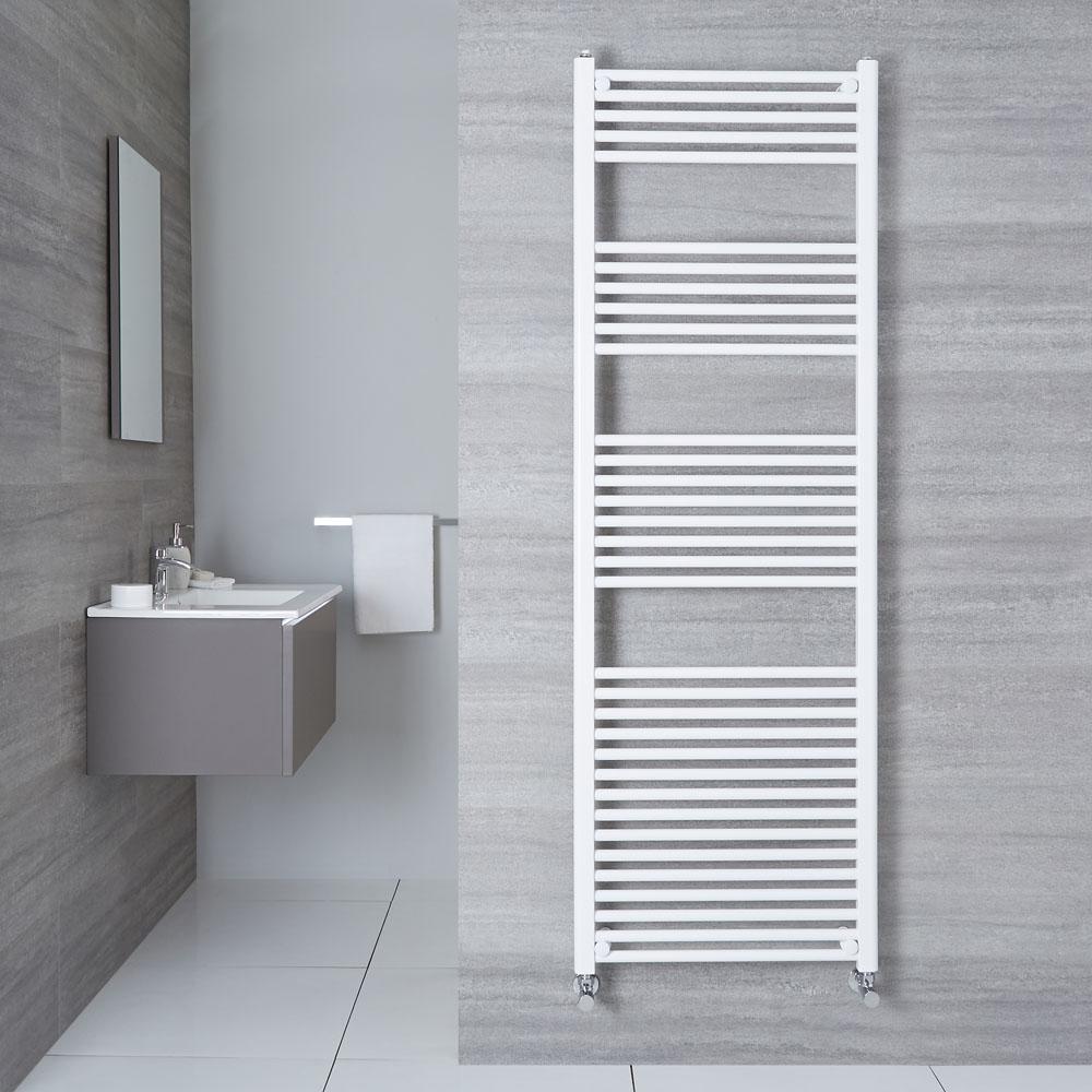 Sèche-Serviettes Blanc Etna 180cm x 60cm x 3cm 1122 Watts