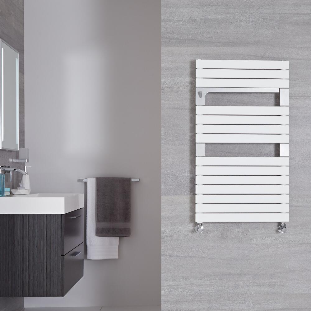 Seina - Sèche-serviettes Design Blanc Minéral - 95.2cm x 55cm