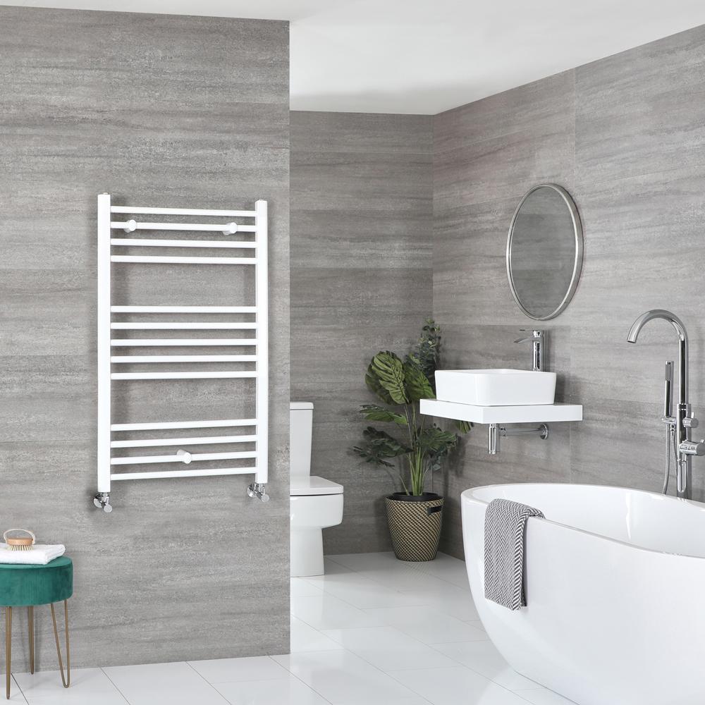 Sèche-serviettes plat – Blanc – 100 cm x 50 cm - Ive