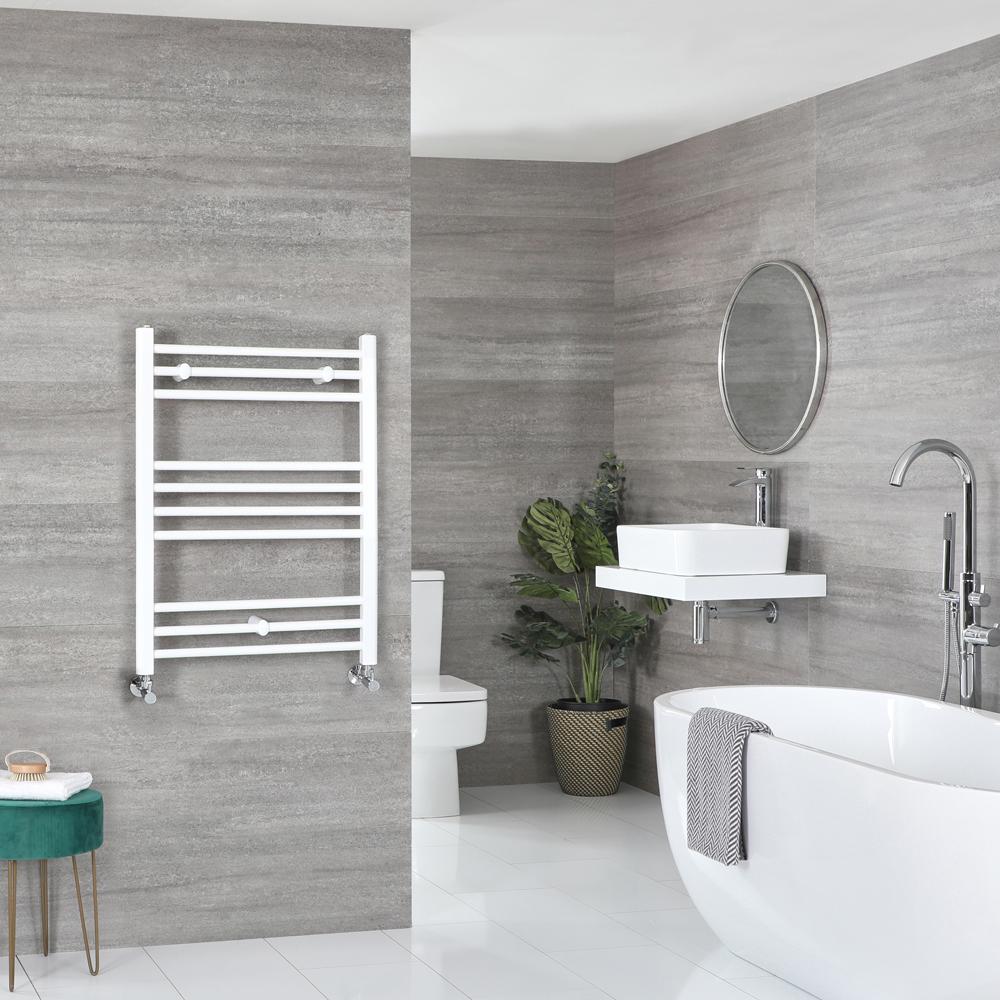 Sèche-serviettes plat – Blanc – 80 cm x 60 cm - Ive