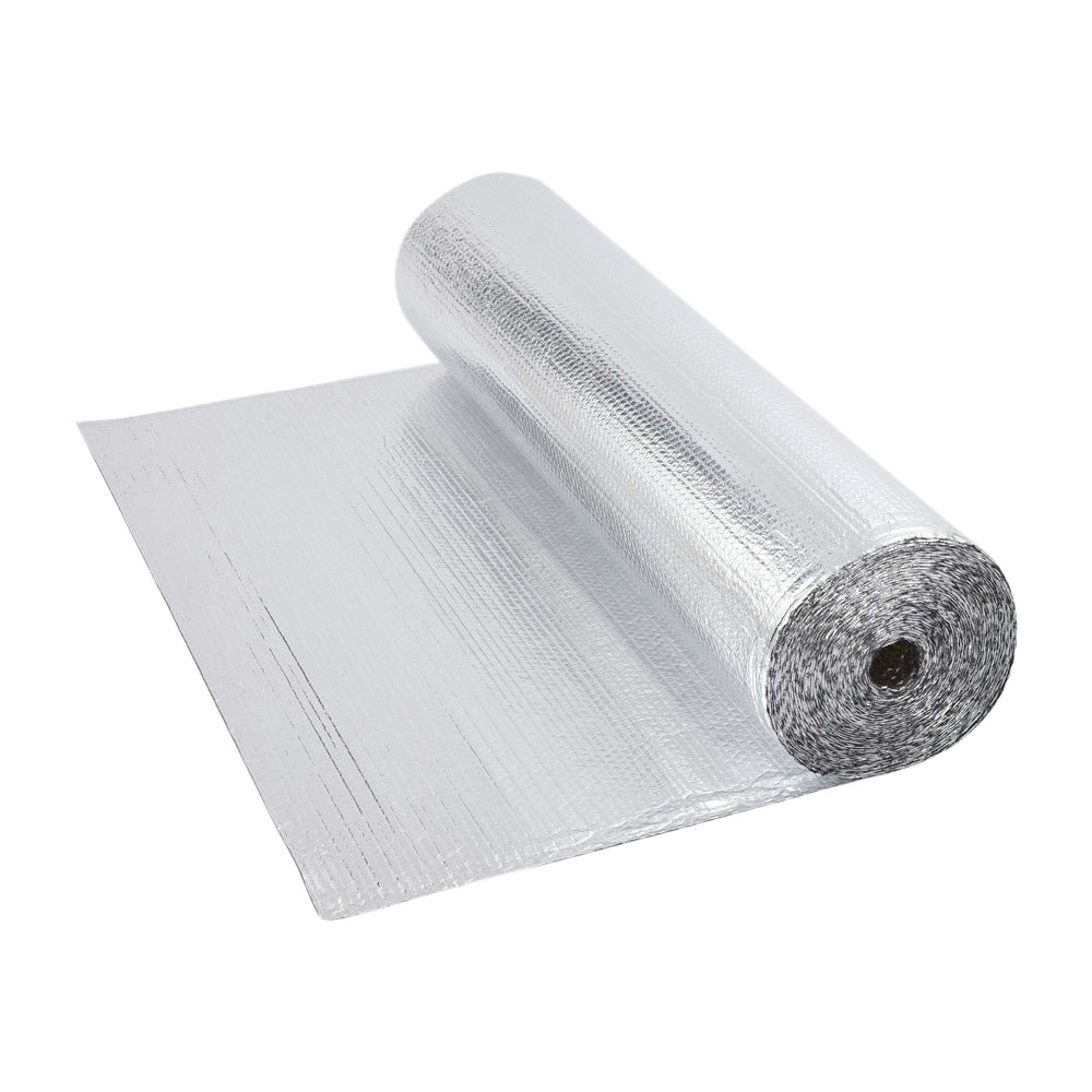 Rouleau isolant aluminium à bulles 10 x 1.2m Ép. 3.5mm