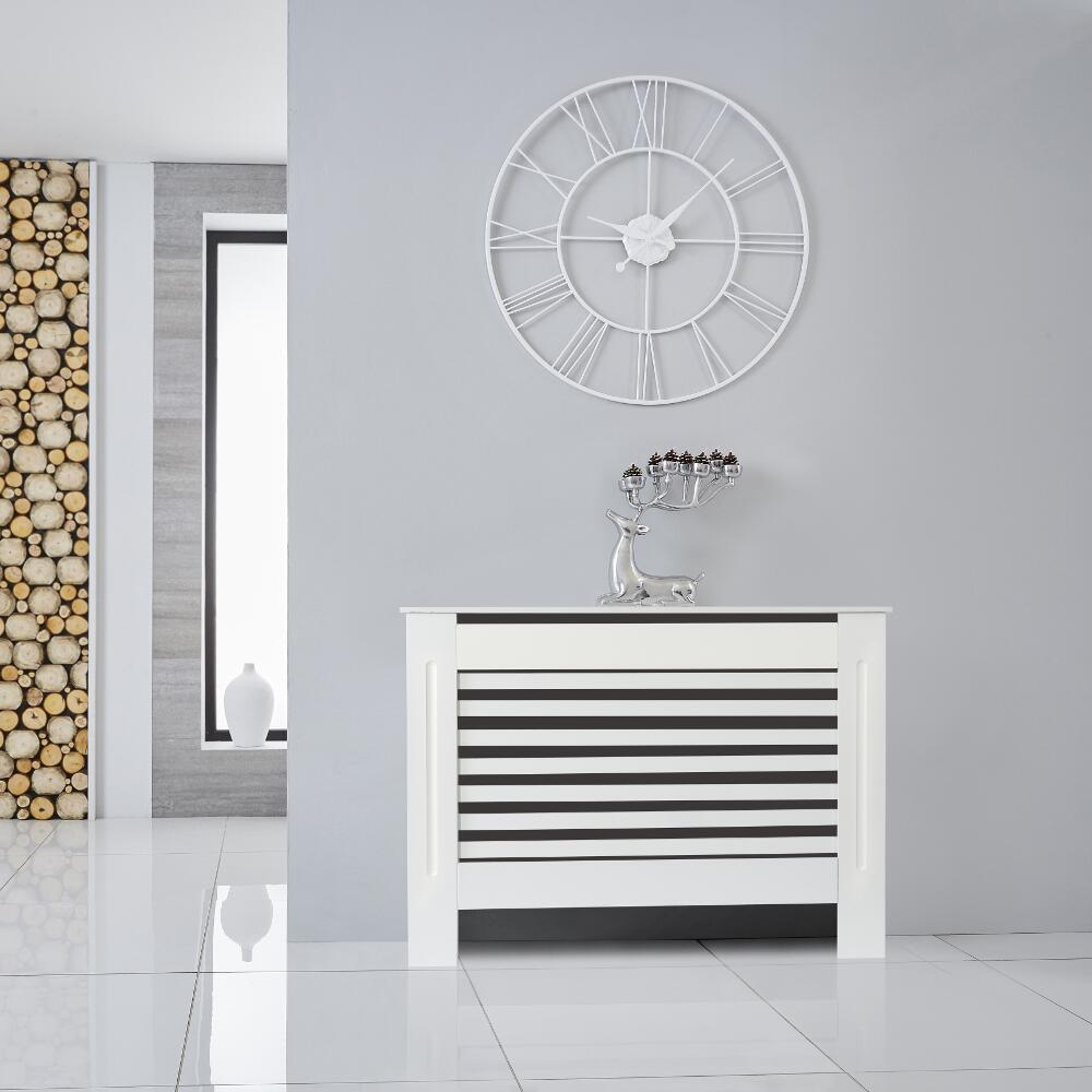 Cache Radiateur Blanc 81,5 cm x 11,2 cm Newham