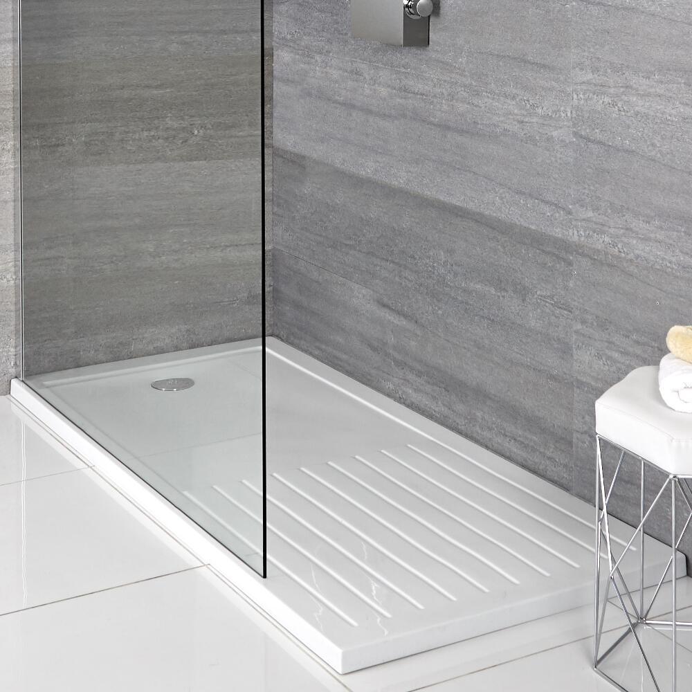 Receveur de douche rectangulaire 170x90cm - Zone de séchage