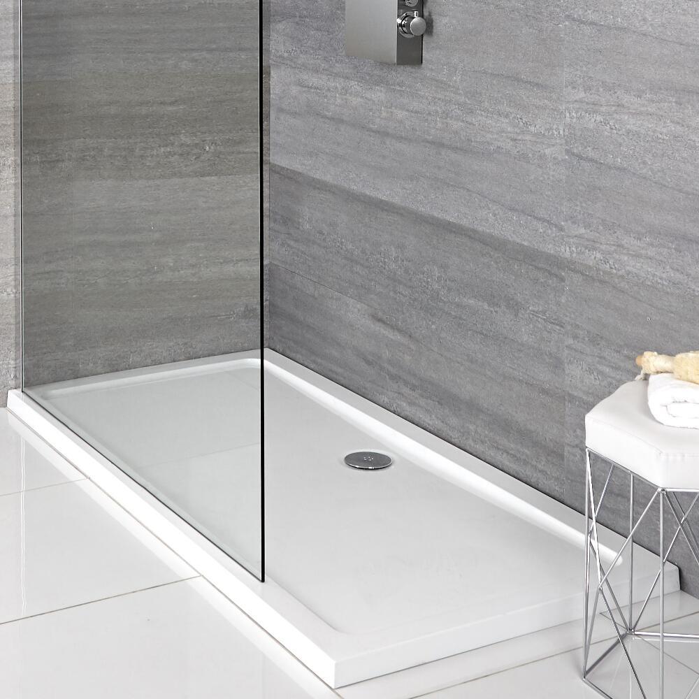 Receveur de douche rectangulaire 100x70cm