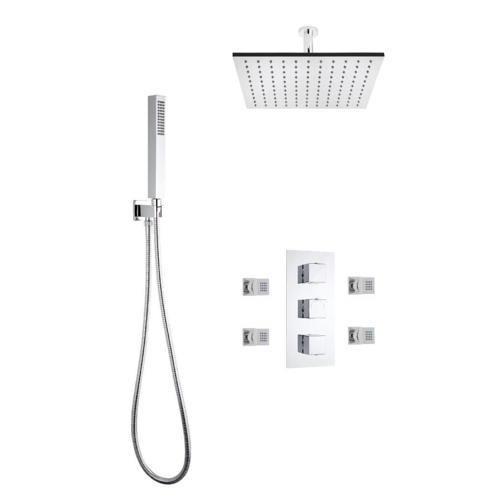 Kit de Douche Thermostatique Encastrable