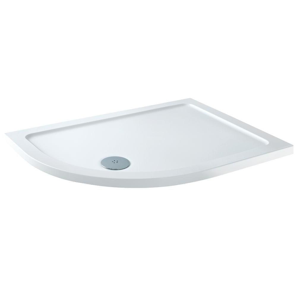 Receveur de douche Quart de rond - Angle gauche 90x76cm