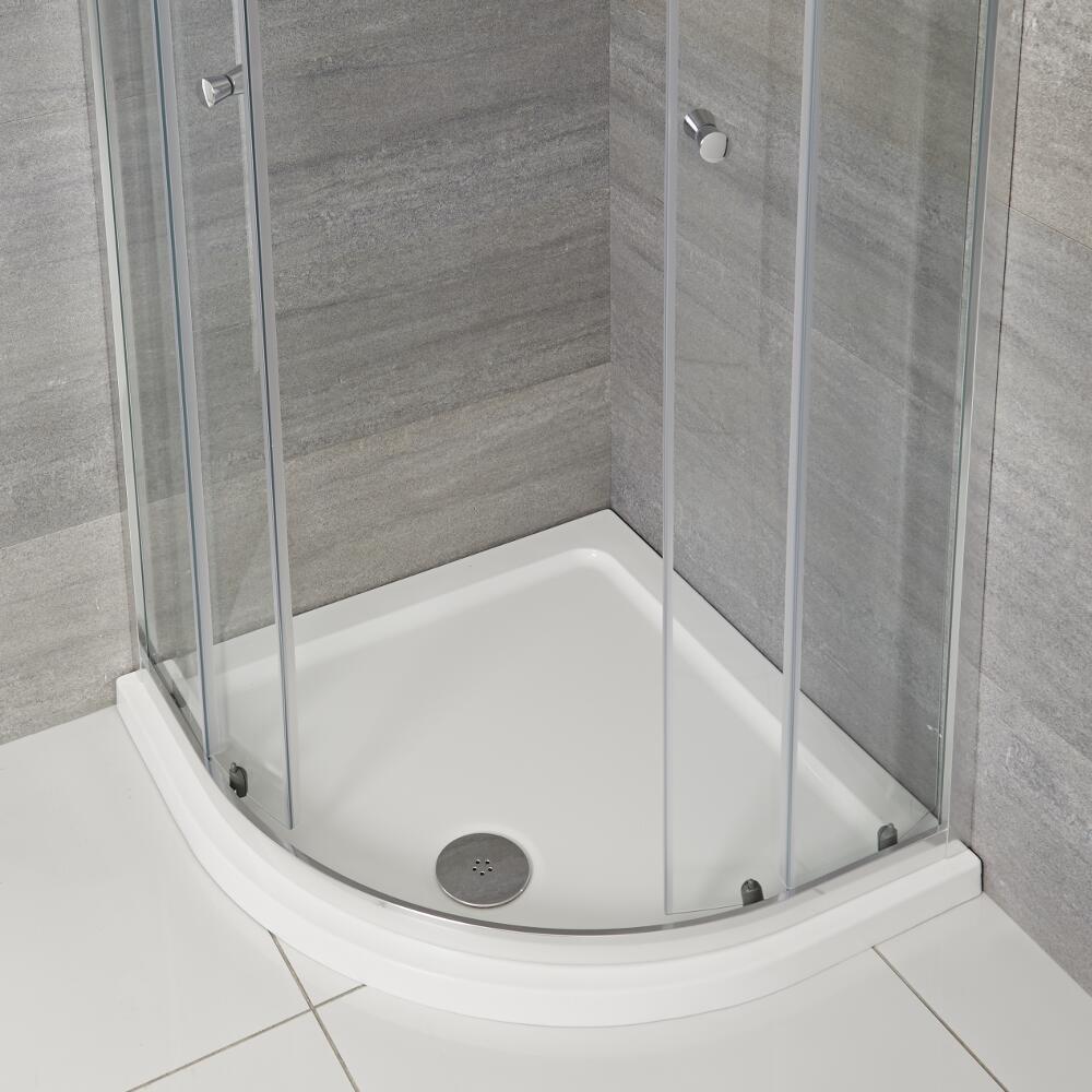 Receveur de douche Quart de rond 90x90cm