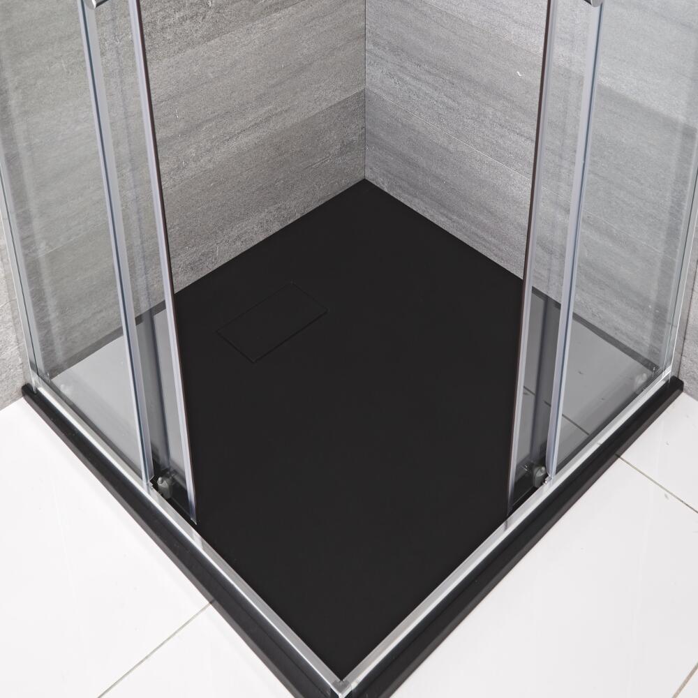 Receveur de douche carré Anthracite 80x80cm
