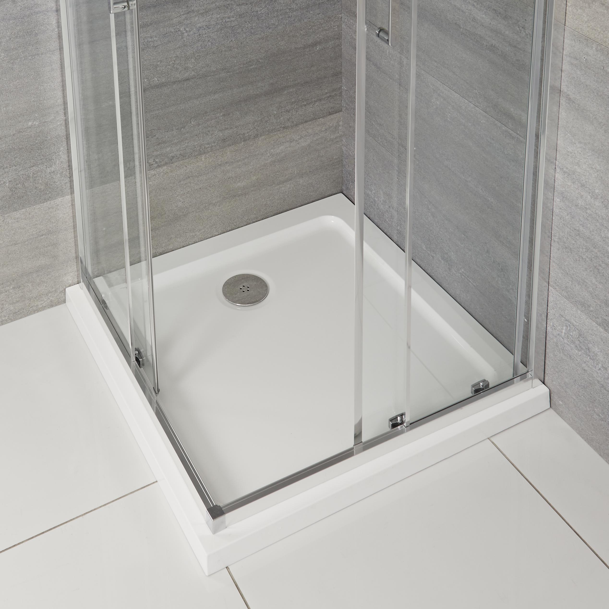 Receveur de douche carré 90x90cm