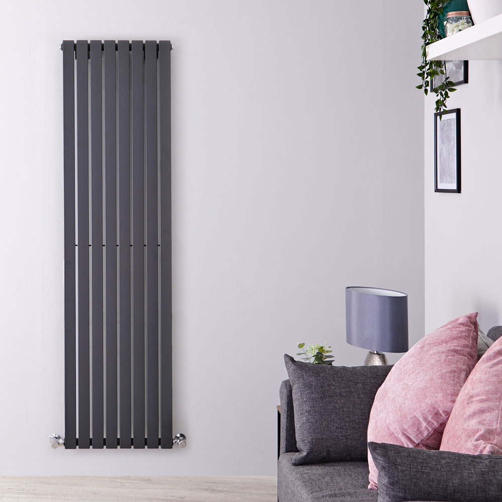 Radiateur Design Vertical Anthracite Sloane 178cm x 47,2cm x 5,3cm 1196 Watts