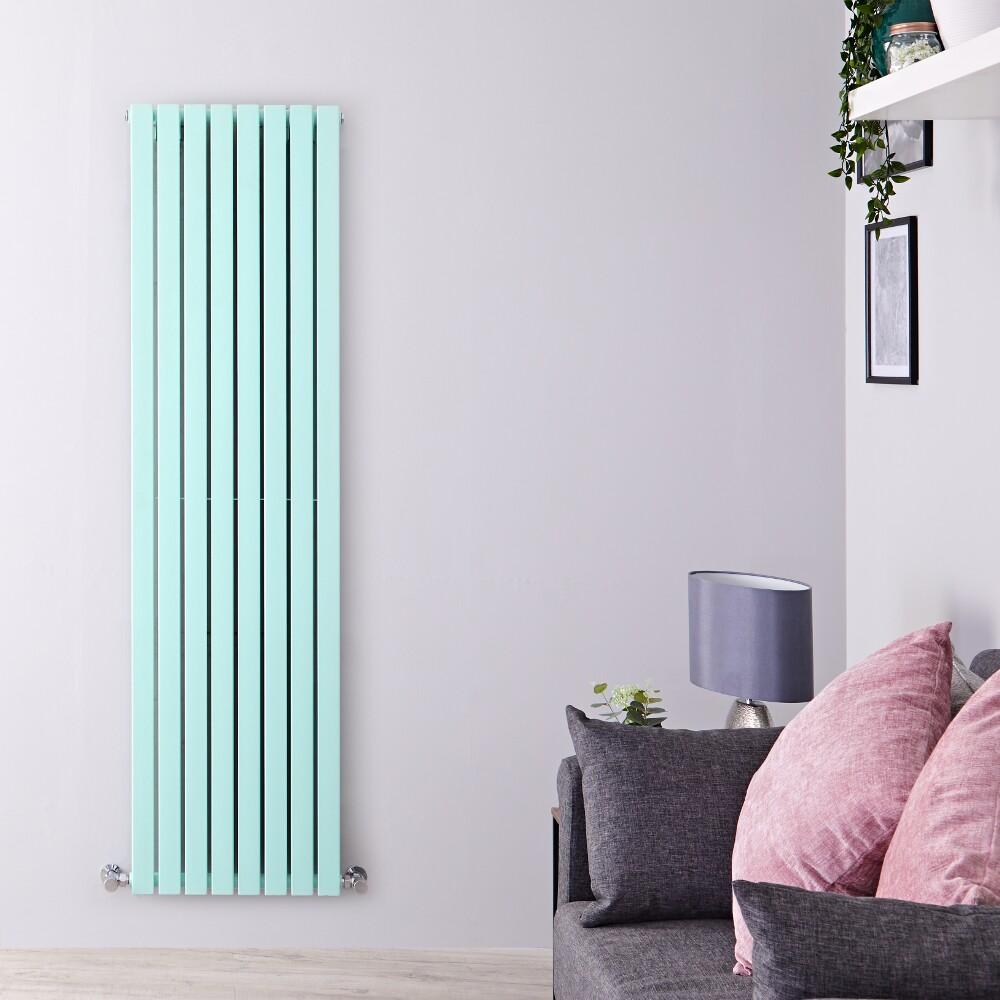 Radiateur vertical Sloane Vert menthe 178 x 47.2cm 1931 watts
