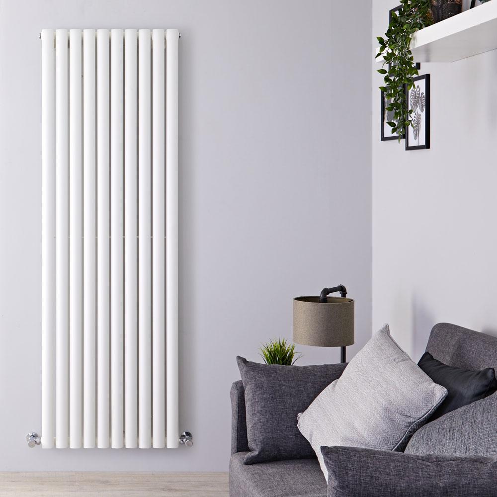 Radiateur Design Vertical Blanc Vitality 178cm x 59cm x 5,5cm 1487 Watts