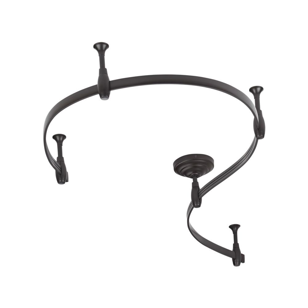 Biard Rail flexible pour Spot LED 2m Noir