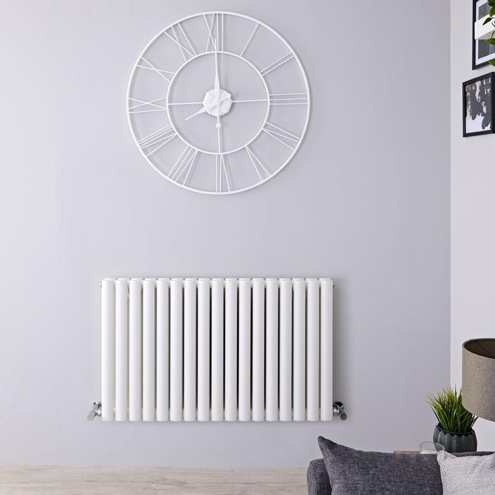Radiateur Horizontal Vitality Blanc 60cm x 100cm x 7.8cm 1331 watts