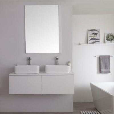 Meuble-Lavabo Blanc
