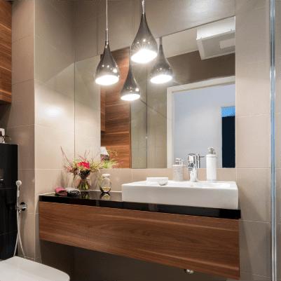 Luminaire salle de bain - Luminaire plafond salle de bain ...